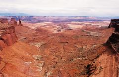 (SamBHart) Tags: nikon fm2 35mm film america roadtrip summer canyonlands national park utah canyons landscape wide angle geology nikonfm2 35mmfilm cayonlandsnationalpark 400iso kodak ultramax 400 kodakultramax400