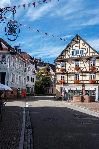 """La """"Hofstätte"""" à Gernsbach"""