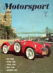 1952 Allard J2 LeMans Replica (Customized) (aldenjewell) Tags: magazine replica cover customized february j2 lemans motorsport allard 1952