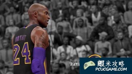 NBA 2K16 Kobe科比的能力值介紹