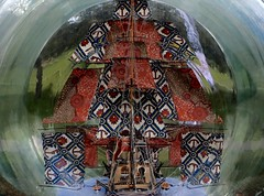 Ship in a bubble (JmsSplln) Tags: museum bottle ship greenwich royal nelson victory national maritime bubble museums hms shonibare yinka nmm rmg