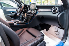 Mercedes-Benz C 250 BT AMG Estate - (s205) - 204 c.v - Plata Paladio - Piel Negra - Techo Panorámico