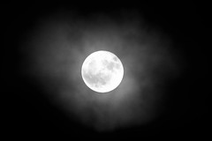 Supermoon Nov 2016bw (cathalgibbons) Tags: supermoon meath ireland ire laytown