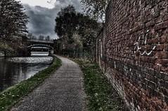 The footpath (Keo6) Tags: bridge canal no doctors 89 bridgewater runcorn