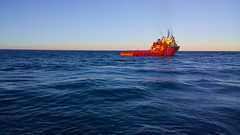 Offshore in the Gulf (Shane Adams Photography) Tags: sea gulfofmexico boat nokia offshore smartphone workboat osv ilobsterit lumia1020