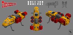 Heli Jet 2.0 Thunderbirds (BricksRaven) Tags: lego jet thunderbirds heli helijet moc foitsop bricksraven