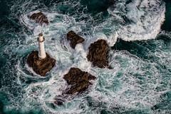 _D813130-Les trois pierres (Brestitude) Tags: sea mer france island brittany waves bretagne aerial breizh vagues roches tempête finistère écume île aérien archipel tourelle iroise molène lestroispierres brisants brestitude ©laurentnevo2015
