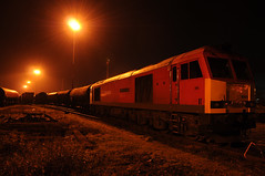 Margam 33770 (kgvuk) Tags: trains locomotive railways margam diesellocomotive clitheroecastle class60 60024 dbschenker margamyard southwalesmainlne