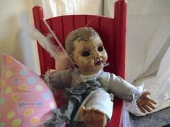 creepy doll (Mr.  Mark) Tags: baby face toy photo scary doll child stock creepy crack markboucher