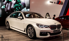 ALL NEW 7 (ATFotografy) Tags: 2016 bmw 7 series m sport package atfotografy canon eos 600d dslr white show motor excs riyadh saudi arabia made in germany rim gril kidney all new luxury expensive worldcars
