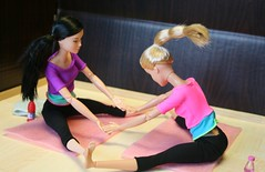 Barbie & Miko (irinakopilova) Tags: barbie move made