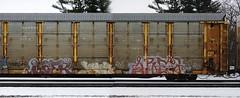 Soer/Jame/Are2 (quiet-silence) Tags: railroad art up train graffiti railcar unionpacific graff freight jame autorack soer fr8 are2