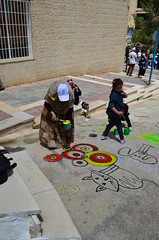 DSC_0036 (Al Ahliyya Amman University) Tags: street flowers students colors painting colorful university pretty time weekend president amman happiness jo jordan characters aau joyful       ccbysa  ahliyya          balqa      alsaro