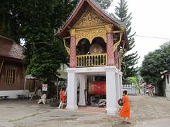 """Luang Prabang: le temple Vat  Sene Soukharam <a style=""""margin-left:10px; font-size:0.8em;"""" href=""""http://www.flickr.com/photos/127723101@N04/23786925221/"""" target=""""_blank"""">@flickr</a>"""