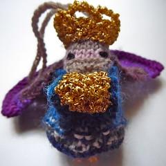 le dernier deuxime roi (lyndell23) Tags: knitting knit christmasdecoration knitted 3wisemen mochimochi mochimochiland