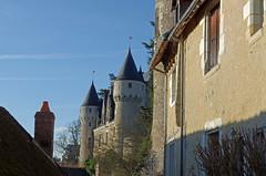 Montrsor (Indre-et-Loire) (sybarite48) Tags: france tower castle torre tour toren castelo turm castello chteau kale  castillo burg kasteel   kule zamek     indreetloire wiea   montrsor