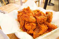 korean hot chicken (seung3253) Tags: food chicken panasonic1232mm