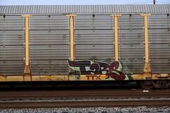Tars (Revise_D) Tags: graffiti graff freight revised tars jaber fr8 bsgk benching fr8heaven benchingsteelgiants