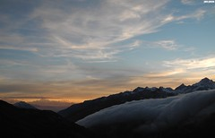 Grimsel (MarcoAgustoniPhotography) Tags: mountains alps west tramonto nuvole blu pass da nord grimsel furka fronte