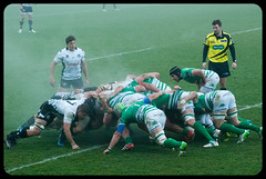 Steam (franz75) Tags: italy nikon italia rugby steam guinness parma calore scrum treviso benetton pro12 2015 zebre vapore sudore d80 mischia benettonrugby zebrerugby guinnesspro12