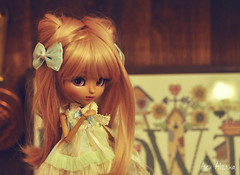 Pretty girl (Au Aizawa) Tags: pullip kitmio mocha tanskin tanned tan japanese fashion doll dollmeeting