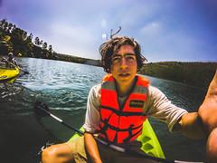 Stop (artruds) Tags: azul nature forrest water kayak gopro portrait swimming adventure balance arturonoriega luisarturonoriega noriega boat kids sunset sun afternoon happy