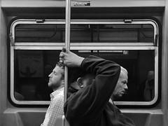 Friday (ShelSerkin) Tags: shotoniphone hipstamatic iphone iphoneography squareformat mobilephotography streetphotography candid portrait street nyc newyork newyorkcity gothamist blackandwhite