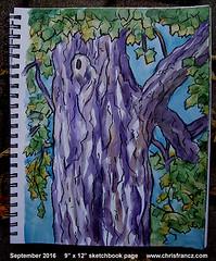 Let's pretend to like each other... (Chris Francz) Tags: sketchbook sketchbookpages sketchbookart mysketchbook art chrisfrancz