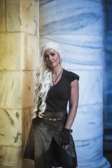 Daenerys Targaryen (AJ Charlton Photography) Tags: game thrones daenerys targaryen hbo fantasy dragon con 2016 september cosplay aj charlton photography ajc nikon d750 85mm atlanta usa 2 player props