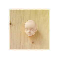 Popo head from Foveo (n u b i) Tags: popo doll dollfie foveo white resin head mini pureneemo