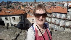 selfie (Linda DV) Tags: lindadevolder samsung smartphone geotagged travel portugal porto europe 2016 citytrip oporto ribbet