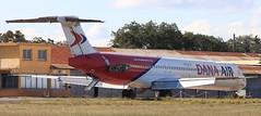 Dana Air / McDonnell Douglas MD-83 / 5N-JOY (vic_206) Tags: pgf lfmp danaair mcdonnelldouglasmd83 5njoy abandoned nigeria aroportinternationalperpignanrivesaltes