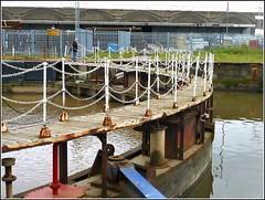 Old Lock Gates .. (** Janets Photos **) Tags: uk hull docks rivers ships tides