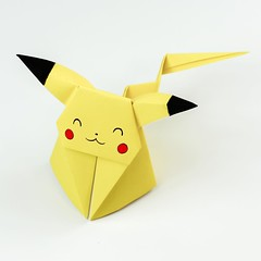 Anyone wants to make this Pikachu? (paperkawaii) Tags: instagramapp square squareformat iphoneography uploaded:by=instagram