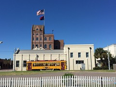 Beyond the white picket fence (st_asaph) Tags: 2016streetcarfest streetcarfest tecolinestreetcarsystem floridabrewing yborcity teco tampa streetcar trolley tram