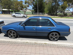 Holden Camira Executive (RS 1990) Tags: adelaide southaustralia friday 28th october 2016 teatreegully holden camira executive smartrd stagnes
