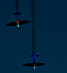 River of Light Flight (frisiabonn) Tags: 5th fireworks planes aeroplanes display propeller liverpool uk england britain british flight colourful wirral merseyside river mersey guy fawkes november