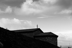 Church (petia.balabanova(tnx for +1.500.000 views)) Tags: blackandwhite bw church sky clouds monochrome 2470mm nikond800 bulgaria travel