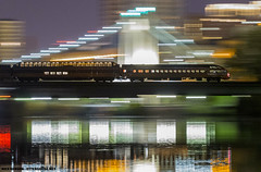Super Dome & Cedar Rapids Pan; Minneapolis, MN (Ottergoose) Tags: superdome cedarrapids milwaukeeroad mississippiriver panshot railroad