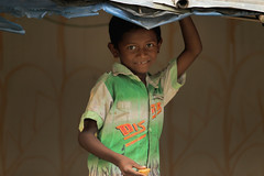 Santal In Bengal (press & pleasure - pap) Tags: bangladesh bangladeshi asian asia lifeinbangladesh child childhood children