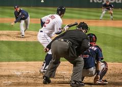 Windians! (clevbuck1986) Tags: baseball indians plaoffs ohio cleveland lindor bunt game sports umpire pitcher batter
