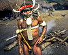 Dani War Chief - West Papua, Melanesia (david schweitzer) Tags: dani balim papua highlands irian indonesia koteka culture tribe ethnography anthropology guinea bodyart indigenous street documentary portrait portraiture clan warfare pacific oceania outdoor vanishingcultures warchief cookingpit earthoven melanesia tradition explore neolithic stoneage davidschweitzer documentaryphotography streetphotography humaninterest visualanthropology photojournalism people documentaryportrait streetportrait