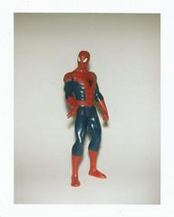 Spiderman (Luke Stephenson) Tags: spiderman hulk superhero robber polaroid bigshot flash fun toys