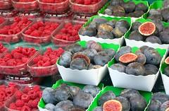 Raspberries and figs (jglsongs) Tags: paris france market marketplace marchrichardlenoir raspberries figs fruits