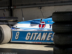 2016 Donington Park test: Ligier JS17 (8w6thgear) Tags: 2016 doningtonpark test ligier matra js17 formula1 f1 paddock pitbox pitgarages
