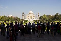 Taj Mahal, Agra, India (Jorge del Amo Mazaro) Tags: taj mahal india wonderful sunny culture hindi people tourism ancient landscape