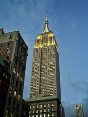 The Empire State Building (jurassicjay) Tags: iconic building city architecture empirestate esb empirestatebuilding midtownmanhattan midtown nyc manhattan newyork northamerica unitedstatesofamerica unitedstates usa us america