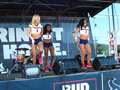 IMG_5964 (grooverman) Tags: houston texans cheerleaders nfl football game nrg stadium texas 2016 budweiser plaza nice sexy legs stomach canon powershot sx530