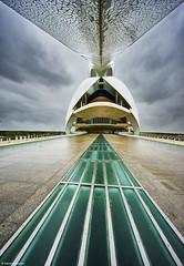 Valencia Palau de las Arts Reina Sofia Farbe (rainerneumann831) Tags: architektur linien palaudelasartsreinasofia valencia