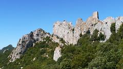Chateau de Peyrepertuse (Niall Corbet) Tags: france languedoc roussillon occitanie aude peyrepertuse chateau castle fort fortress medieval cathar cliff hilltop